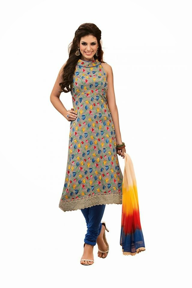 Dress Material Catalogue Design