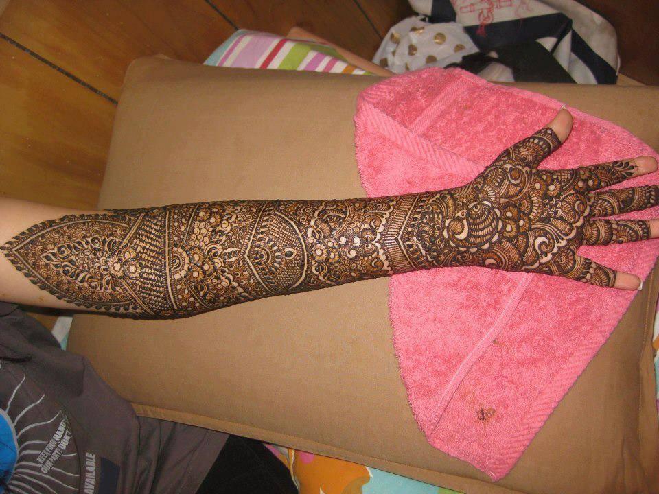 Mehndi Designs Full Hands Marriage : Top bridal mehndi designs for full hands front and back