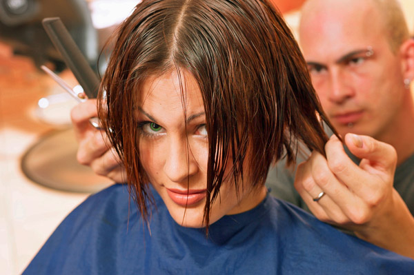 hair cut according your face