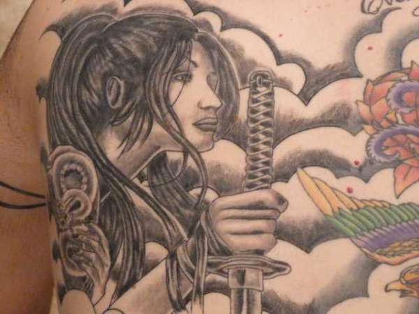 princess of the samurai warrior