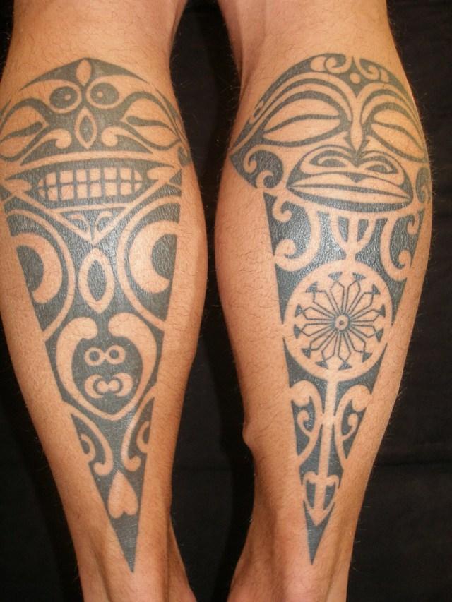 face of maori tattoo