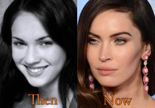 comparision Megan Fox Without Makeup