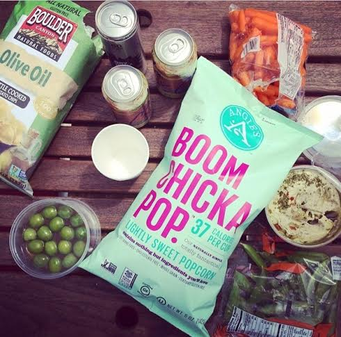 Healthy Boat + Camping Snacks via Simply Real Health