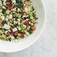 Summer Picnic Poblano Quinoa Salad