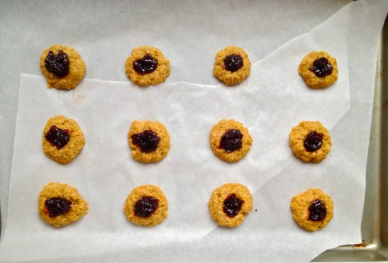 Sweet Thumbprint Cookies // simply real health //