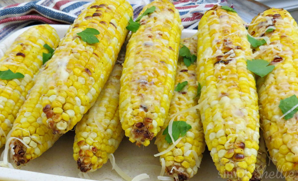Beauteous Crackers Roasted Parmesan Corn On Cob Recipe Baked Corn Recipe Harvest Moon Baked Corn Recipe nice food Baked Corn Recipe