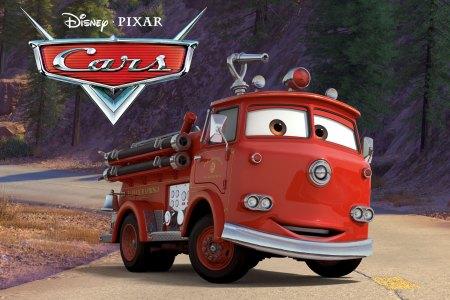 red pixar cars wallpaper