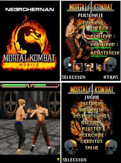 Mortal Kombat4 mobile