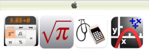 Calculadoras para iPhone