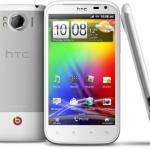 Vista trasera del HTC Sensation XL