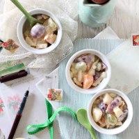 Potato,egg & fruit salad (Cantonese Style)