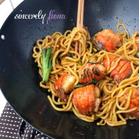 CNY Stir-fry Lobster in Ginger Scallion Sauce