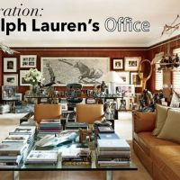 Ralph Lauren inspired office