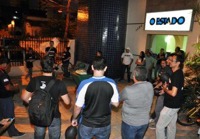 De luto, jornalistas do Ceará descomemoram falta de reajuste salarial