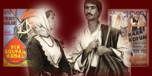 Aleviler ve Bektaşilerin, Yeşilçam'a konu olması, şaşılacak gibidir ama çok ama çok eskilere dayanır. Biz Alevilerle ilgili olan bu makaleyi, 4 film üzerinden incelemek istedik: Boğaziçi Esrarı-Nur Baba, Kızılırmak Karakoyun (1947), Pir Sultan Abdal ve Hasan Boğuldu.
