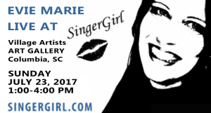 Evie Marie Live at Sandhills ART GALLERY
