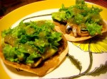 Vegetarian Tostadas and Chocolate Almond Butter Cups