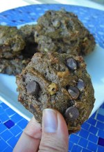 Double Chocolate Cherry Walnut Cookies {Gluten-free} and Cookbook Winner