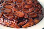 Plum Cake Tatin and almost a month!