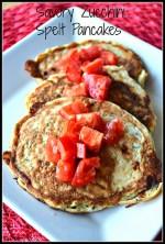 Savory Zucchini Spelt Pancakes