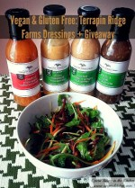 Vegan and Gluten-Free: Terrapin Ridge Farm Dressings and Sauces {Review + Giveaway}