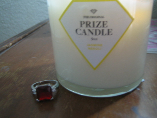 Prize Candle Ring Reveal