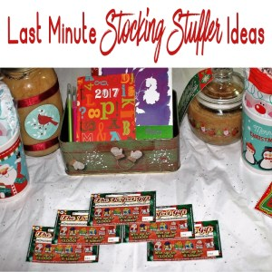 Here are some great ideas for last minute stocking stuffers (plus a fun addition) #GiveInstantJoy