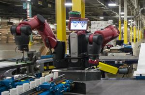 Rethink Robotics Baxter robot.