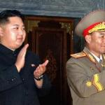 Marshal Kim Jong Eun and Ri Yong Ho in happier days.   Picture courtesy Diario de Caracas