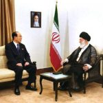 Kim Yong Nam in Tehran 2012-09-03, via NK Leadership Watch