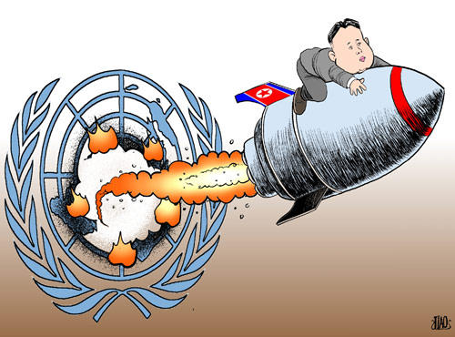 KJU riding high