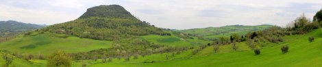 Tuscana (Tuscany) Panoramic Serene Countryside