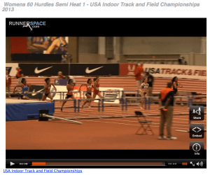 USA Indoor Nationals Track and Field Womens Hurdles