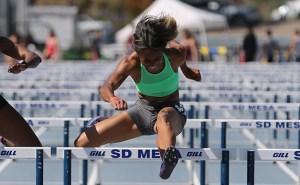 Amazing track athlete