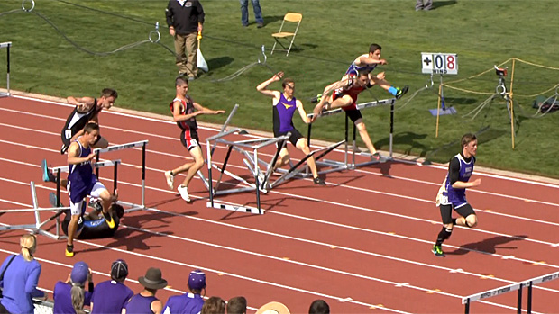 Track and field hurdles quotes