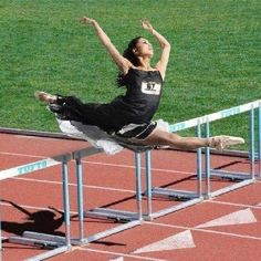 when dance is life but you love track too