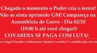 Guardas Municipais do Rio de Janeiro, a covardia nunca terá fim enquanto não colocarmos um ponto final ao militarismo na GM RIO e conquistarmos o comando próprio, previsto na […]