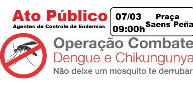Os Agentes de Controle de Endemias em conjunto com a ATCERIO e o SISEP RIO resolveram realizar ato de conscientização para esclarecer a sociedade sobre os riscos das doenças transmitidas […]