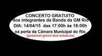 Os integrantes da Banda da GM RIO, cansados do descasos do Chefe do Executivo do Município do Rio de Janeiro, resolveram realizar Concerto Gratuito na porta da Câmara Municipal […]
