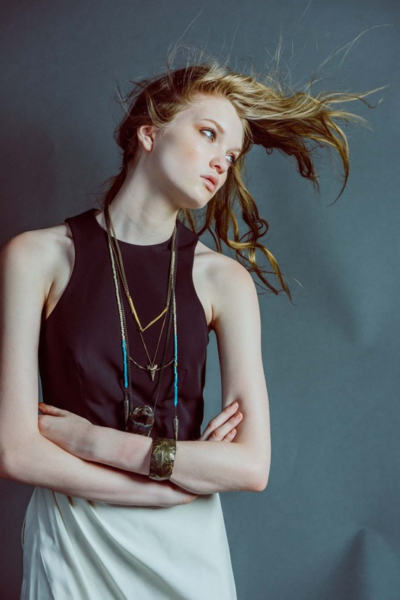 Sara Oswalt of Sisterbrother MGMT as stylist