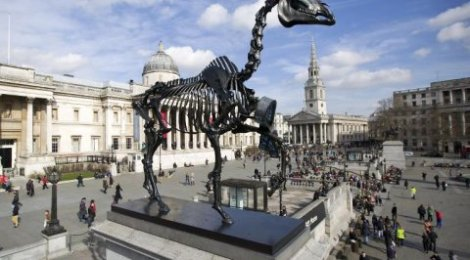 London's Culture Head says public art easier to put up if you promise it won't be there forever