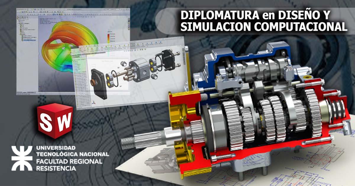 Diplomatura en Diseño 3D y Simulación Computacional con Solidworks