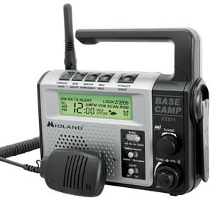 MIDLAND RADIO MIDXT511 GMRS Emergency Radio DynamoCra