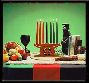 Kwanza Symbols from www.officialkwanzaawebsite.org