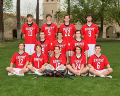 Brophy Lacrosse Seniors