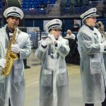 The Blue Band was part of the entertainment for the Military Appreciation Day tailgate at the Bryce Jordan Center. Penn State vs. Army, Oct. 3, 2015.
