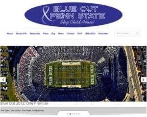 Blue Out Blog Screenshot