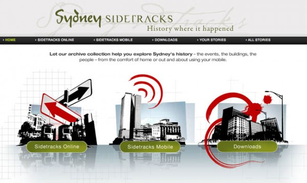 Sydney Sidetracks