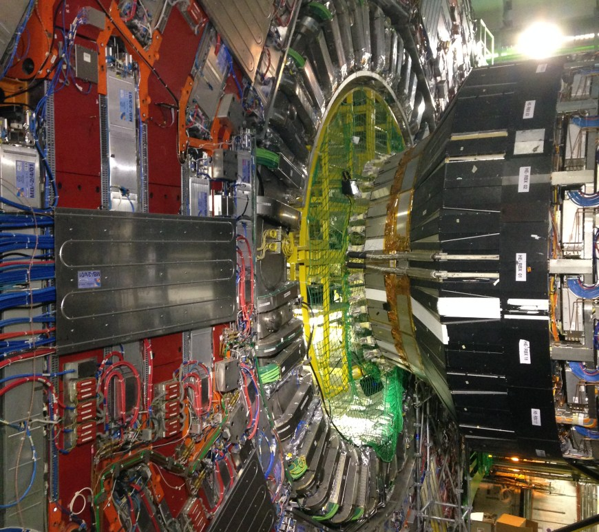 A View inside the LHC