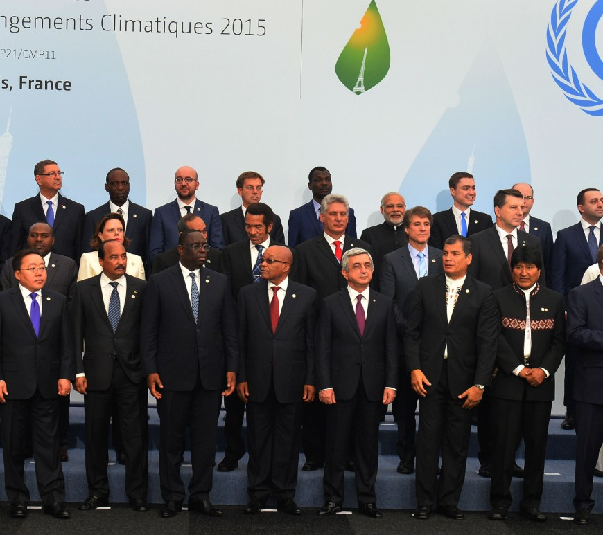 Heads of State and Government at COP21, in Paris, France on November 30, 2015